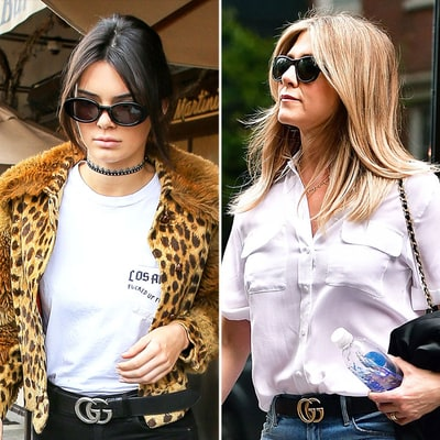 Kendall Jenner, Jennifer Aniston, More Celebs Cinch Their Fall 2016 Street Style With Gucci Belts