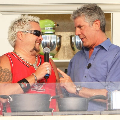 Guy Fieri Hits Back at Anthony Bourdain's Insults: