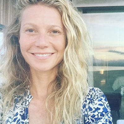 Gwyneth Paltrow Celebrates Her 44th Birthday With a Makeup-Free Selfie
