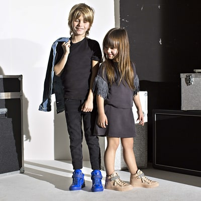Giuseppe Zanotti Announces Sneaker Line for the World's Most Stylish Tots