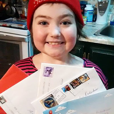 9-Year-Old Battling Leukemia Wants Snail Mail for Christmas