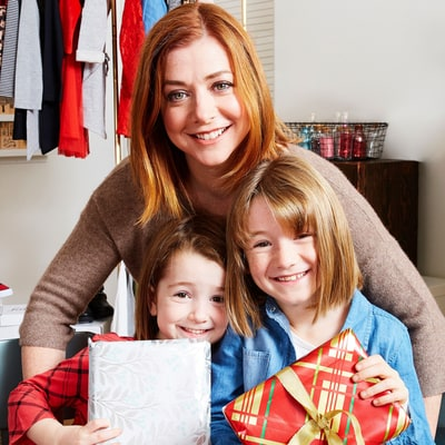 Alyson Hannigan and Her Adorable Daughters Give Back — Just in Time for Christmas