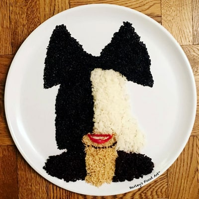 Beyonce, Prince, Rihanna and Other Amazing Celebrity Portraits Made from Food