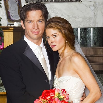 Debra Messing Asks 'Will & Grace' Fans to Forgive Her TV Husband Harry Connick Jr.