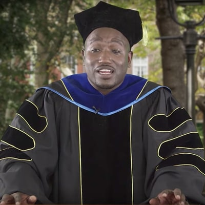 Watch Hannibal Buress' 'Late Show' Commencement Speech for Class of 2017
