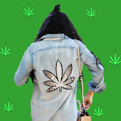 Celebrities' 'High' Fashion for 4/20: See Their Marijuana-Themed Threads