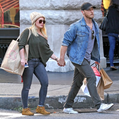 Hilary Duff Holds Hands With Boyfriend Jason Walsh in NYC