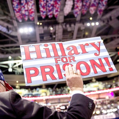 How 'Lock Her Up!' Became a Mainstream GOP Rallying Cry