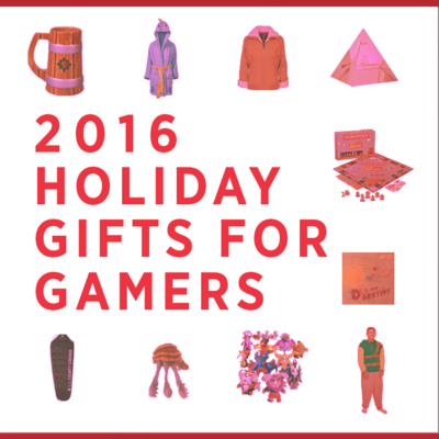 2016 Holiday Gifts for Gamers: 21 Perfect Presents for Gamers