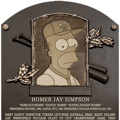 Homer Simpson 'Inducted' Into Baseball Hall of Fame