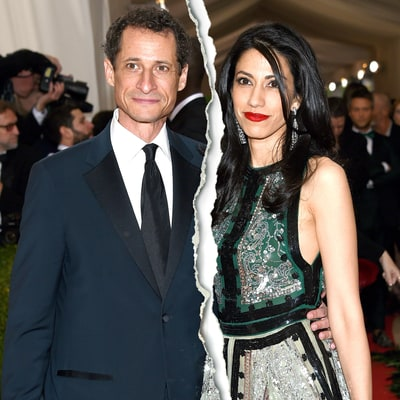 Anthony Weiner and Huma Abedin Separate Following His Latest Sexting Scandal