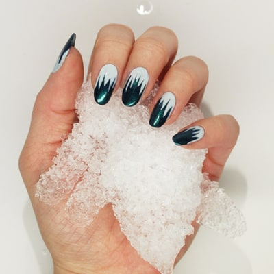 Here's Exactly How to DIY Icicle Nail Art at Home