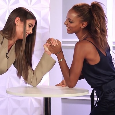 Victoria's Secret Models Jasmine Tookes, Taylor Hill Take the Arm Wrestling Challenge and More ICYMI Highlights!