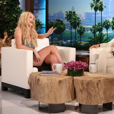 Iggy Azalea Talks Nick Young on 'Ellen,' Plus Get the Lowdown on Her Plastic Surgery
