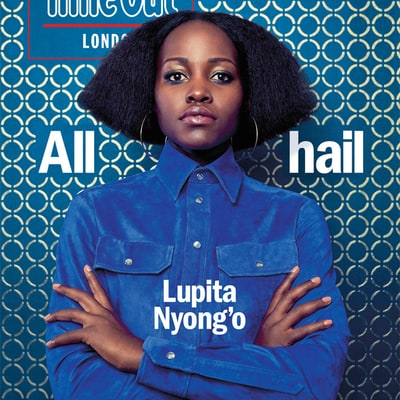 Lupita Nyong'o Brings Back Her Angled, Textured Bob for New 'Time Out: London' Cover