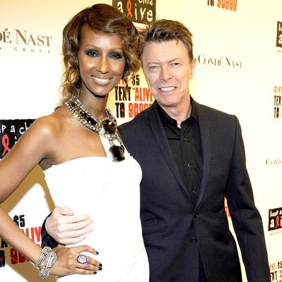 Iman Is 'Torn Apart' by Husband David Bowie's Death: How She's Coping