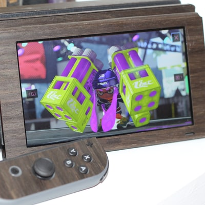 Wood-Panel Your Nintendo Switch Console and Controllers