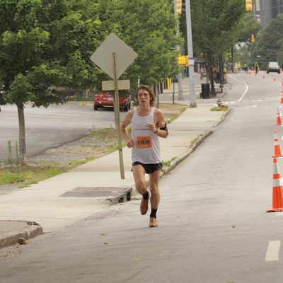 23-Year-Old Juris Silenieks Sets Fastest Half Marathon Record... In Dress Shoes