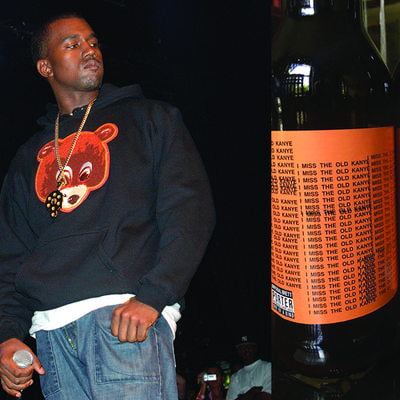 Miss the Old Kanye? We'll Drink to That