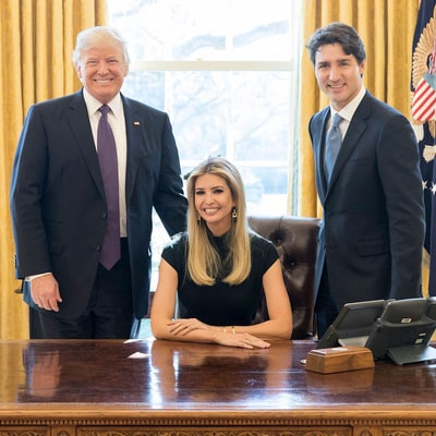 Ivanka Trump Posts Photo Behind Oval Office Desk and Twitter's Not Having It