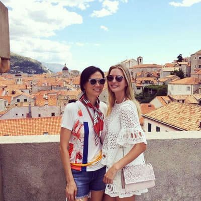 Ivanka Trump Vacations With Wendi Deng in Croatia: Picture