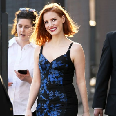 Jessica Chastain Chops Her Lob Into an Angular Bob