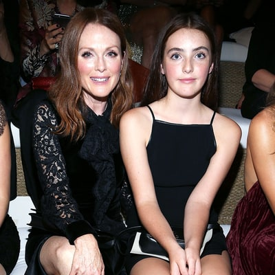 Julianne Moore Brings Look-Alike Daughter Liv to Ralph Lauren's Fashion Show