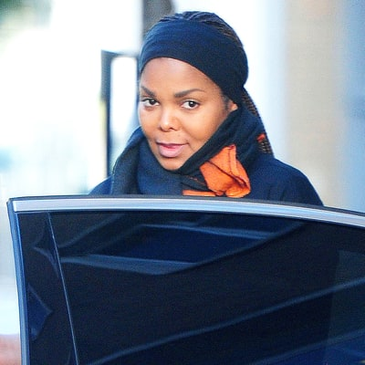Pregnant Janet Jackson Shows Off Her Baby Bump in London — See the Pictures!