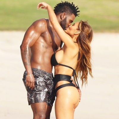 Jason Derulo, Daphne Joy Pack on PDA While Showcasing Insane Bods in Mexico