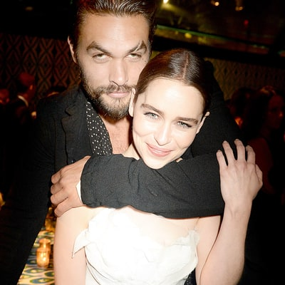 Jason Momoa (Khal Drogo) Reacts to Emilia Clarke's Talked-About 'Game of Thrones' Scene: 'Don't F--k With My Boo'