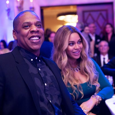 Pregnant Beyonce and Jay Z Steal the Show at the Weinstein Pre-Oscars Party