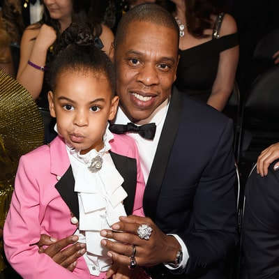 Blue Ivy Steals the Show at the 2017 Grammys, Pays Tribute to Prince