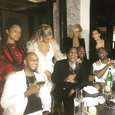 Beyonce, Jay Z, Kimye Partied Together Post-VMAs (and Alicia Keys Was There Too!)