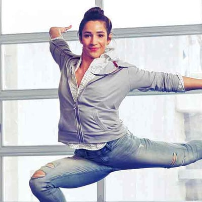Aly Raisman Can Tumble Even in Her Jeans (What Can You Do?)
