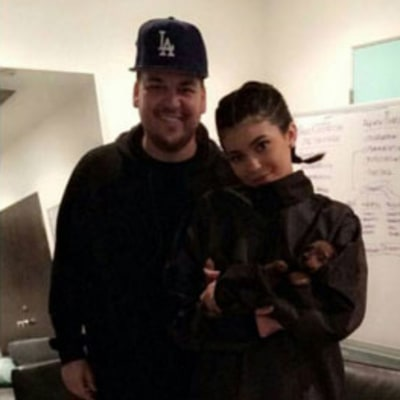 Rob Kardashian, Kylie Jenner Bury Feud, Are All Smiles in New Snapchat Video