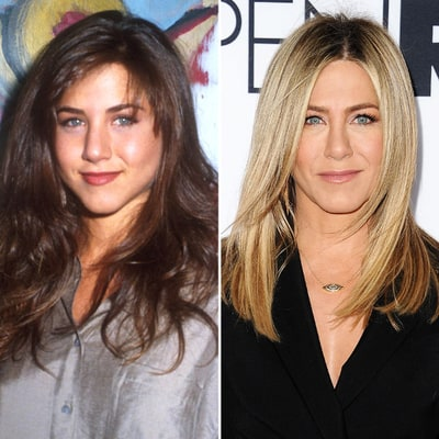 See How Jennifer Aniston's Face Has Changed Through the Years, From 1990 to Today
