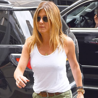 Jennifer Aniston Turns Heads in a Simple White Tank Top: See Why