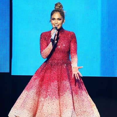 Jennifer Lopez Wore 11 Outfits at the AMAs 2015: See All of Them!