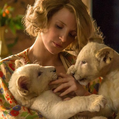 'The Zookeeper's Wife' Review: Jessica Chastain Goes Dr. Dolittle in WWII Drama
