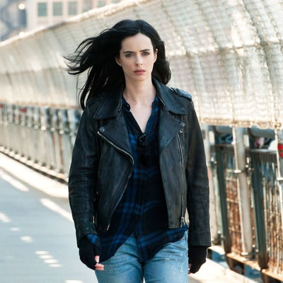 Jessica Jones Can't Stop, Won't Stop Wearing This Leather Jacket in the Netflix Hit: Shop the Look for Less