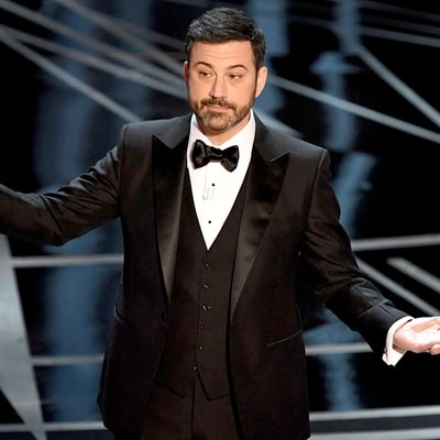 Oscars 2017: Jimmy Kimmel Makes Candy Rain Down From the Ceiling, Celebrities Freak Out