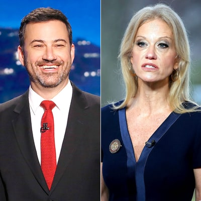 Jimmy Kimmel and More Late-Night Hosts Dive Into Kellyanne Conway's 'Alternative Facts'
