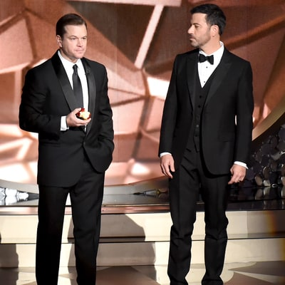 Jimmy Kimmel, Matt Damon Have the Best 'Feud' in Hollywood
