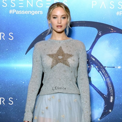 Jennifer Lawrence's 'Passengers' Press Tour Outfits Are Giving Us Major Holiday Party Vibes