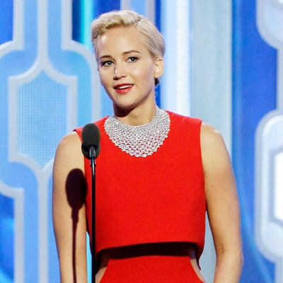Jennifer Lawrence Wins Best Actress in a Musical or Comedy at Golden Globes 2016 for 'Joy'