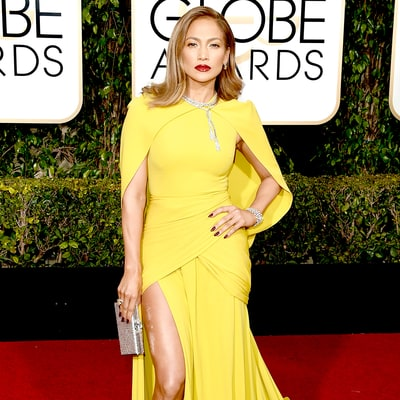 Golden Globes 2016: Jennifer Lopez Rocks 200 Carats of Diamonds Like It's NBD