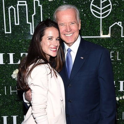 Former Vice President Joe Biden Supports Daughter Ashley's Debut at NYFW