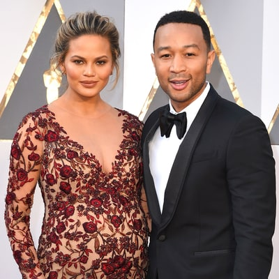Chrissy Teigen and John Legend Do a Hilarious Face Swap: 'I Am Going to Vomit'