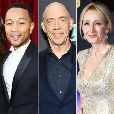 John Legend Accidentally Refers to J.K. Simmons as 'Harry Potter' author J.K. Rowling on SAGs 2017 Red Carpet — Watch the Snafu
