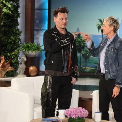 Johnny Depp Does Amazing Donald Trump Impression on 'Ellen': Watch!